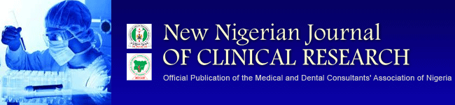 New Nigerian Journal of Clinical Research